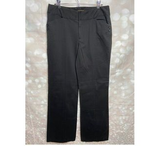 Bandolino Kensington Casual Stretch Black Pants